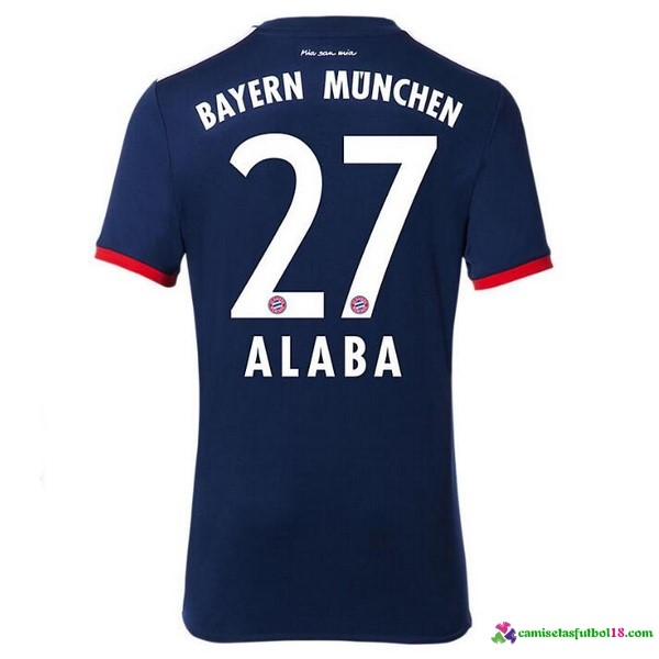 Alaba Camiseta 2ª Kit Bayern Munich 2017 2018